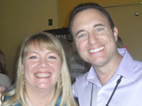 Noah St. John with Jennifer McLean