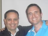 Noah St. John with Mike Filsaime
