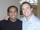 Noah St. John with Rohit Bhargava