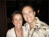 Noah St. John with Marcia Wieder