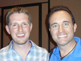 Noah St. John with Matt Mullenweg
