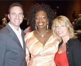 Noah St. John with Lisa Nichols