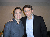 Noah St. John with Keith Ferrazzi