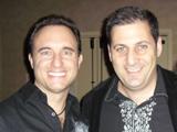 Noah St. John with Larry Benet