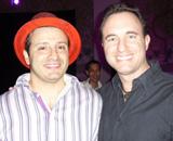 Noah St. John with Yanik Silver